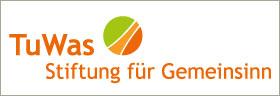 """Logo der """"TuWas – Stiftung für Gemeinsinn"""""""